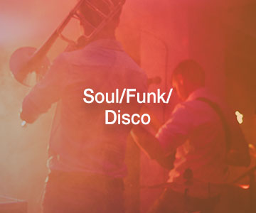 Soul / Funk / Disco | Live Music Bands