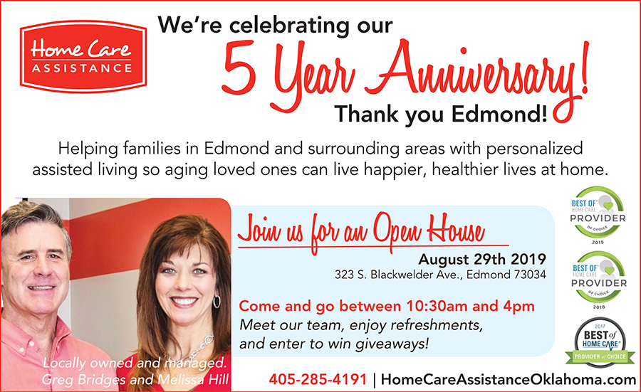 Home Care Assistance five year anniversary