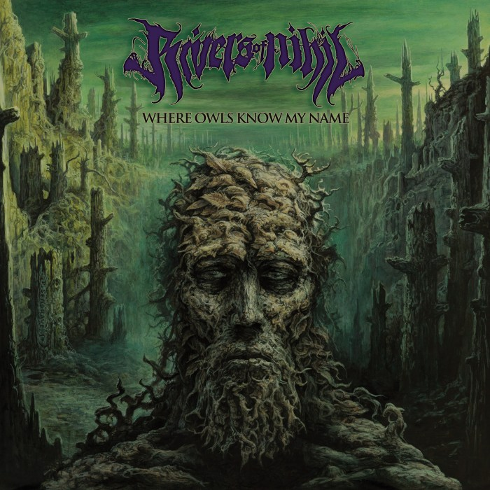 #1 Rivers of Nihil: Where Owls Know My Name - Ever since Rivers of Nihil released their latest effort back in March, I have been pulling my hair out attempting to find a more superior, satiating metal record in 2018; alas, one does not seem to exist.Rivers' emotionally gripping style of melodic death metal may have been enough to guarantee them a spot on this list on its own merits, but the incorporation of sparse horns and keyboards at pivotal moments in select tracks elevate this album to the top tier of metal excellence. Where Owls Know My Name latches onto your heartstrings and consistently surprises you with a flawless fusion of progression and power that will make you continually start the record over again after its blissful conclusion. Essential Track: Subtle Change (Including the Forest of Transition and Dissatisfaction Dance)