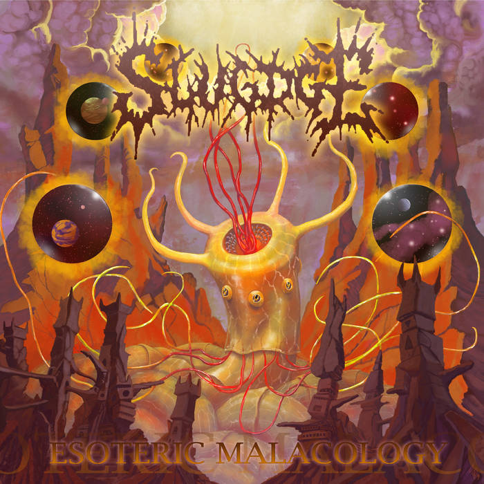 #2 Slugdge: Esoteric Malacology - Do you like technical death metal? Do you like mollusks? Well, hot dang, have I got an album for you! With intricate songwriting and pulverizing riffage, UK tech-death monsters, Slugdge, plead you to bow to your slug overlords and embrace a new slime-drenched existence! Submit to the proggy brutality and praise the goo! Essential Track: Crop Killer