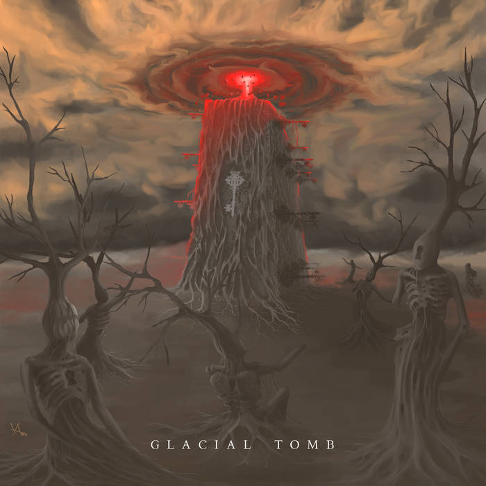 #4 Glacial Tomb: Glacial Tomb - Another magnificent debut made waves this year in the form of Glacial Tomb's self-titled record. Serving up sludge-laden blackened death metal, the Denver trio (founded by members of Khemmis and ex-Abigail Williams) fuses ferocity and punishing low-end riffs to machinate dread and doom unto those who dare.Essential Track: Breath of Pestilence