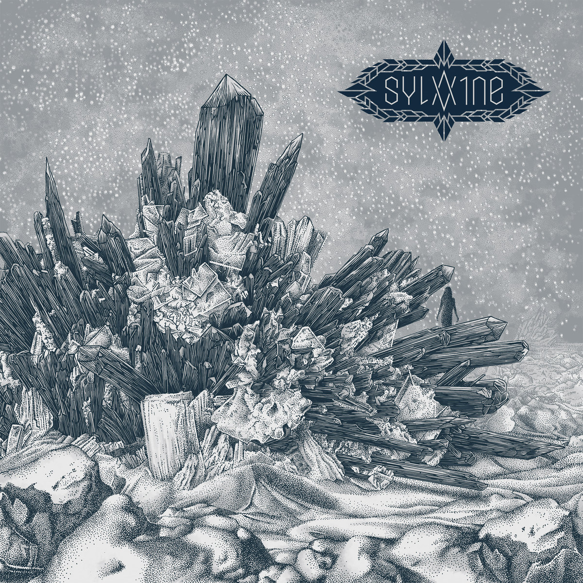 #6 Sylvaine: Atoms Aligned, Coming Undone - Black metal is no stranger to one-man projects, but Sylvaine anoints her multi-instrumental prowess into one of the most affecting metal albums of the year. The Norwegian artist creates a hypnotizing, layered galaxy of post-black ambiance, while her exquisite vocals stream from glossy melody to gut-wrenching screams in enthralling symmetry. Essential Track: Mørklagt