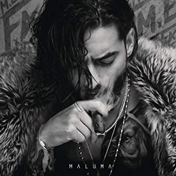 """#4 Maluma - F.A.M.E - Columbian superstar, Maluma's third studio album F.A.M.E was a banger on the Billboard Latin Charts and peaking at #1 no less. His lead single """"Corazon"""" became an instant hit within the Latino community but it wasn't until """"Felices los 4"""" that Maluma tore down walls performing the song during the 2018 MTV Music Awards. F.A.M.E is his first bilingual album featuring tracks in english and spanish featuring Timbaland and Jason Derulo. The album is a reggaeton/pop-dance album filled with domination, betrayal, and plenty of sexual fantasies."""