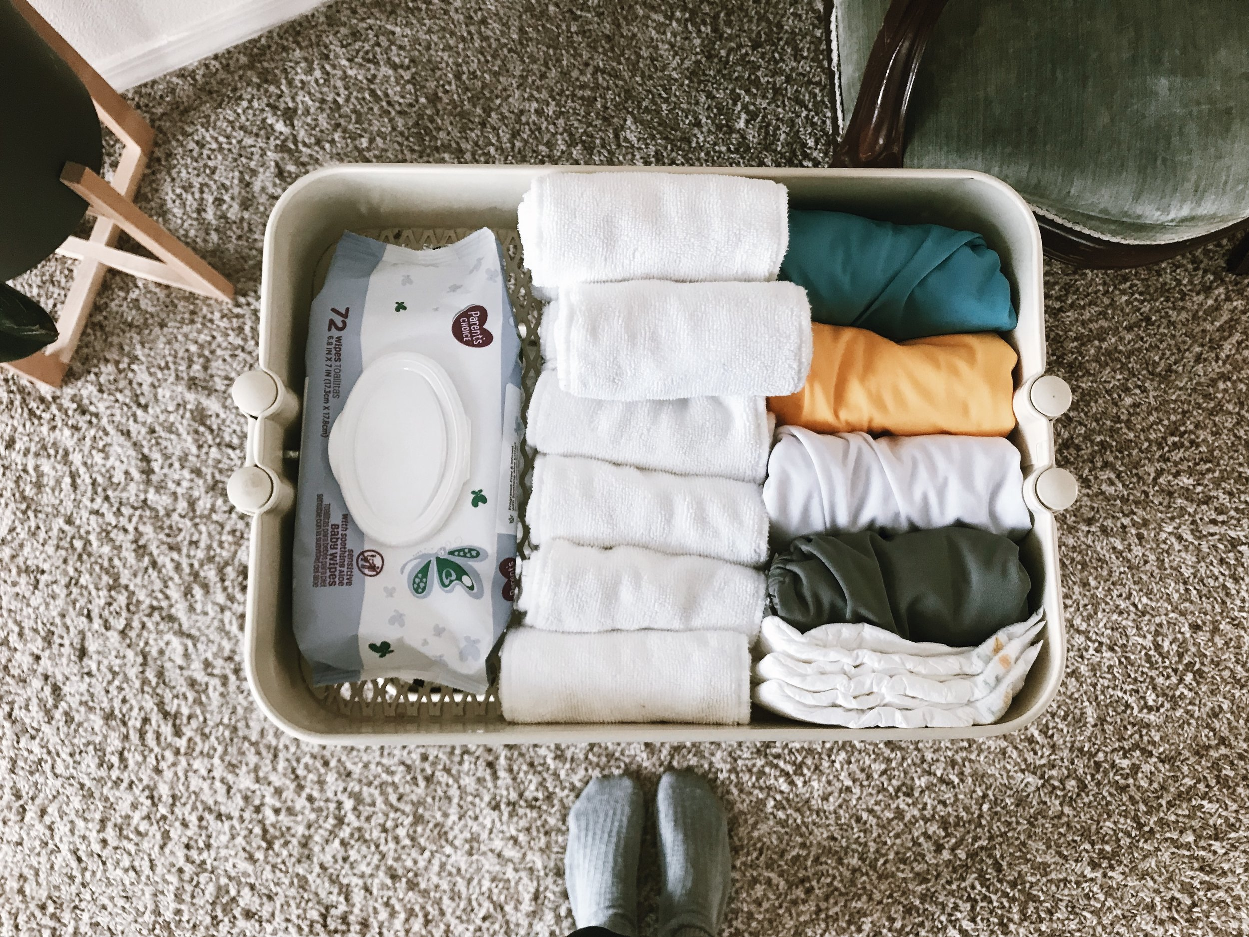 HOME IMPROVEMENT: THE NEWBORN CART - This Wild Home