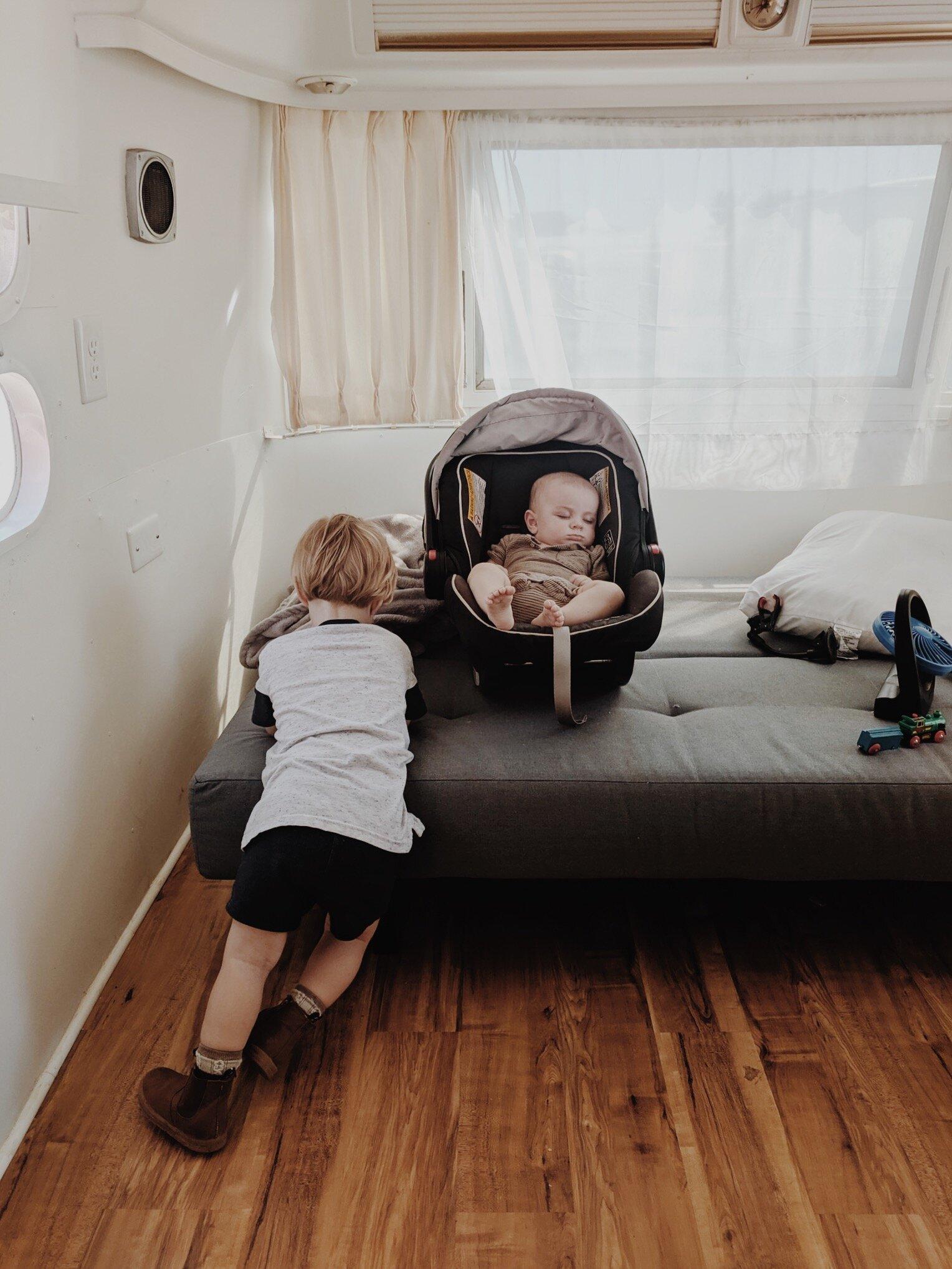 AIRSTREAM PROGRESS: THE BOYS ROOM - This Wild Home