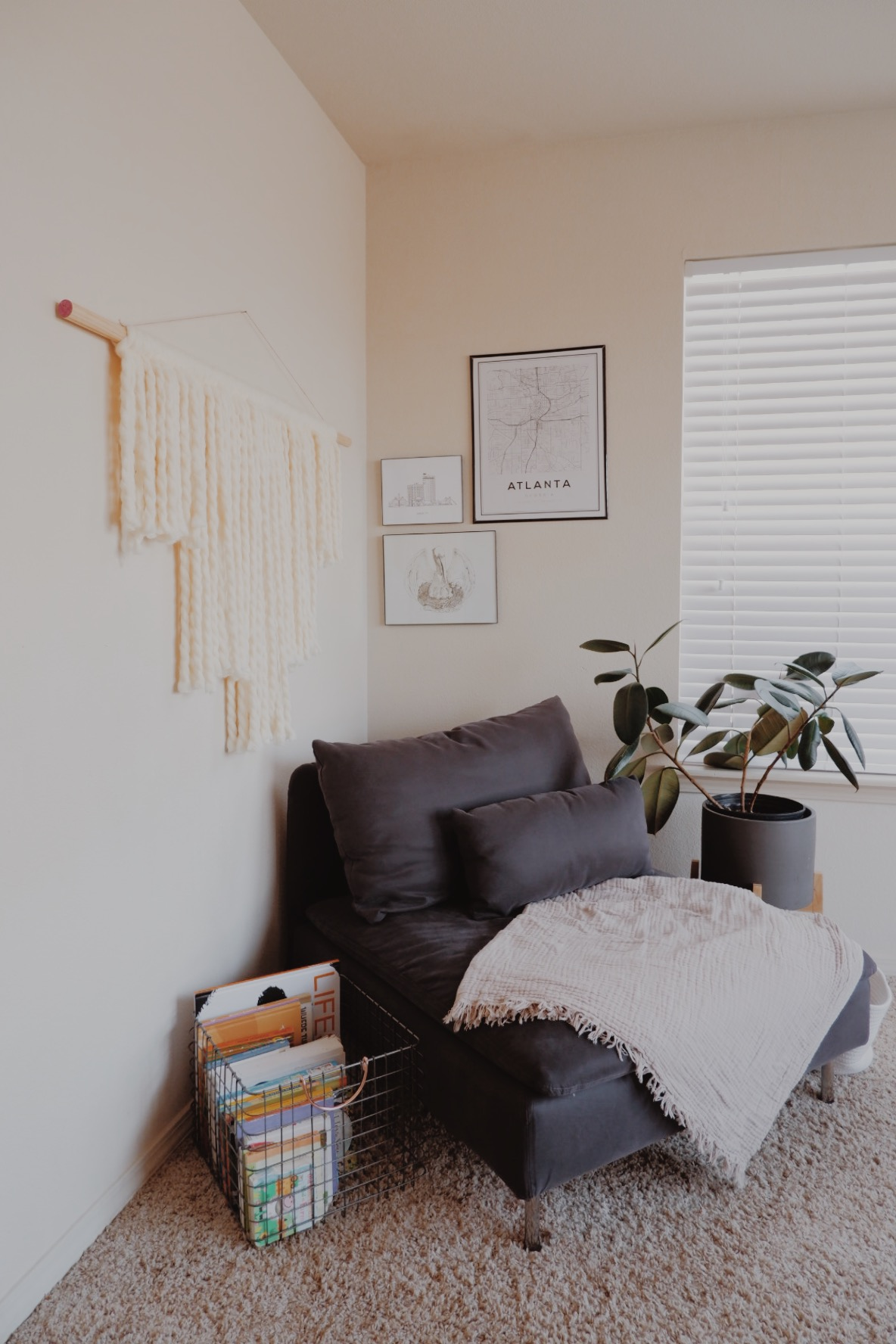 A SIMPLE WALL HANGING DIY - This Wild Home