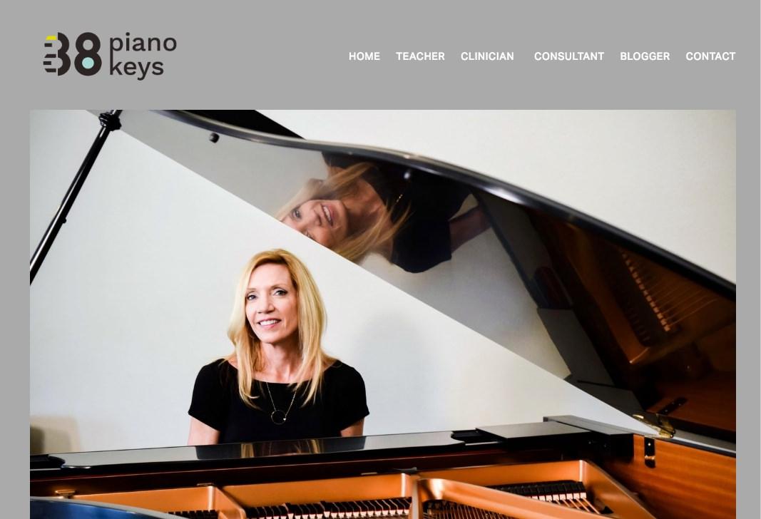 Leila's new homepage