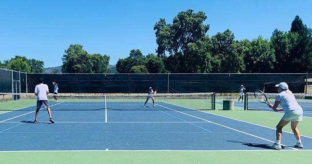 Enjoying some Sonoma sunshine at the SVTA Wimbledon event.
