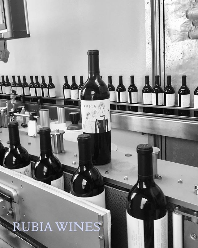Our 2016 Napa Valley Cabernet Sauvignon overseeing the bottling of @rubiawines 2017 Napa Valley Cabernet Sauvignon - Single Vineyard, Single Block and Hillside fruit ready to make memories.  #napavalleywines #yountvillelife #rubiawines #newwineproject #cabernetsauvignon #boutiquewines #singlevineyardwine #memories #cheers #fayardwines #bottlingday
