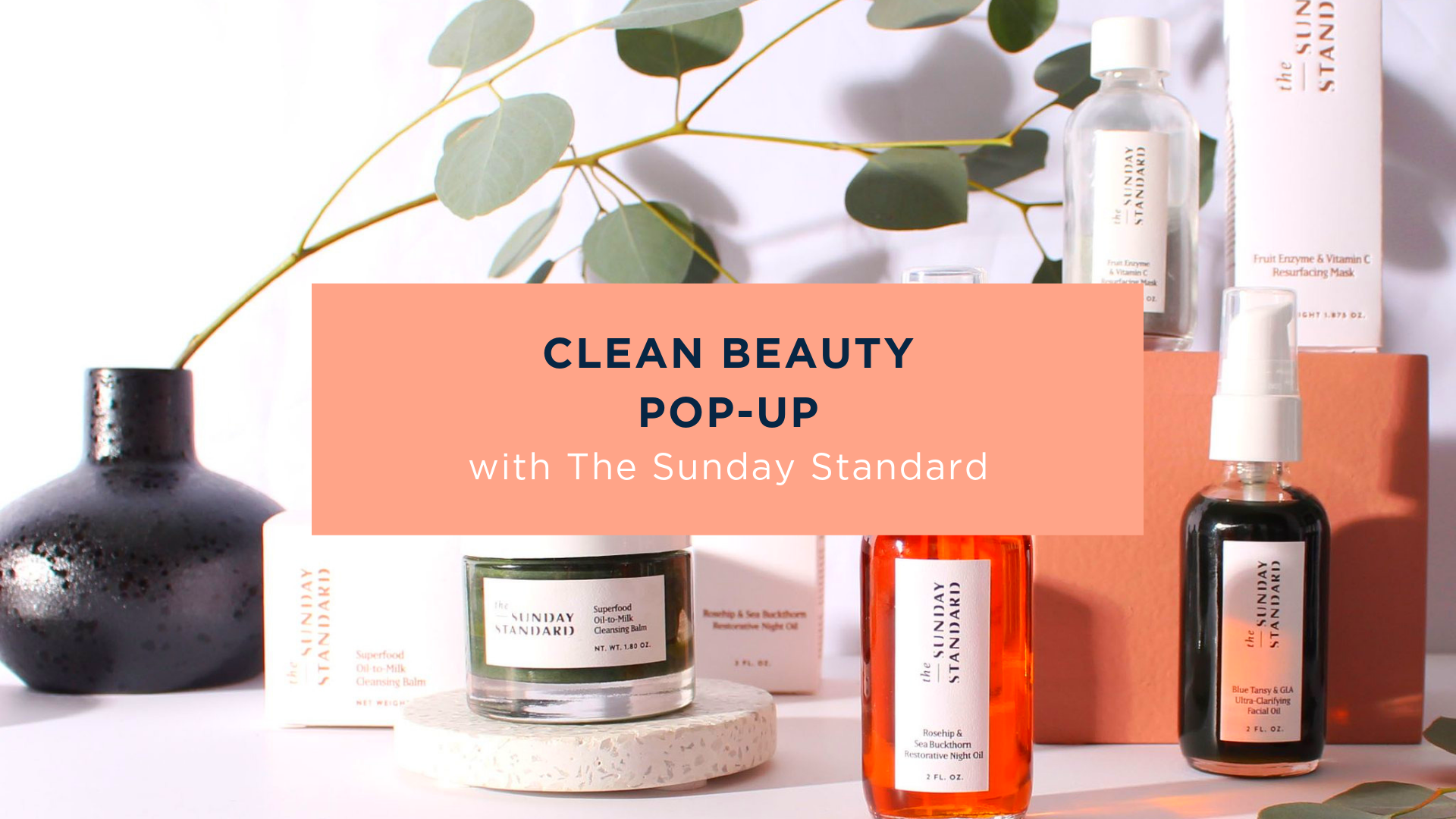 Madison clean beauty pop-up