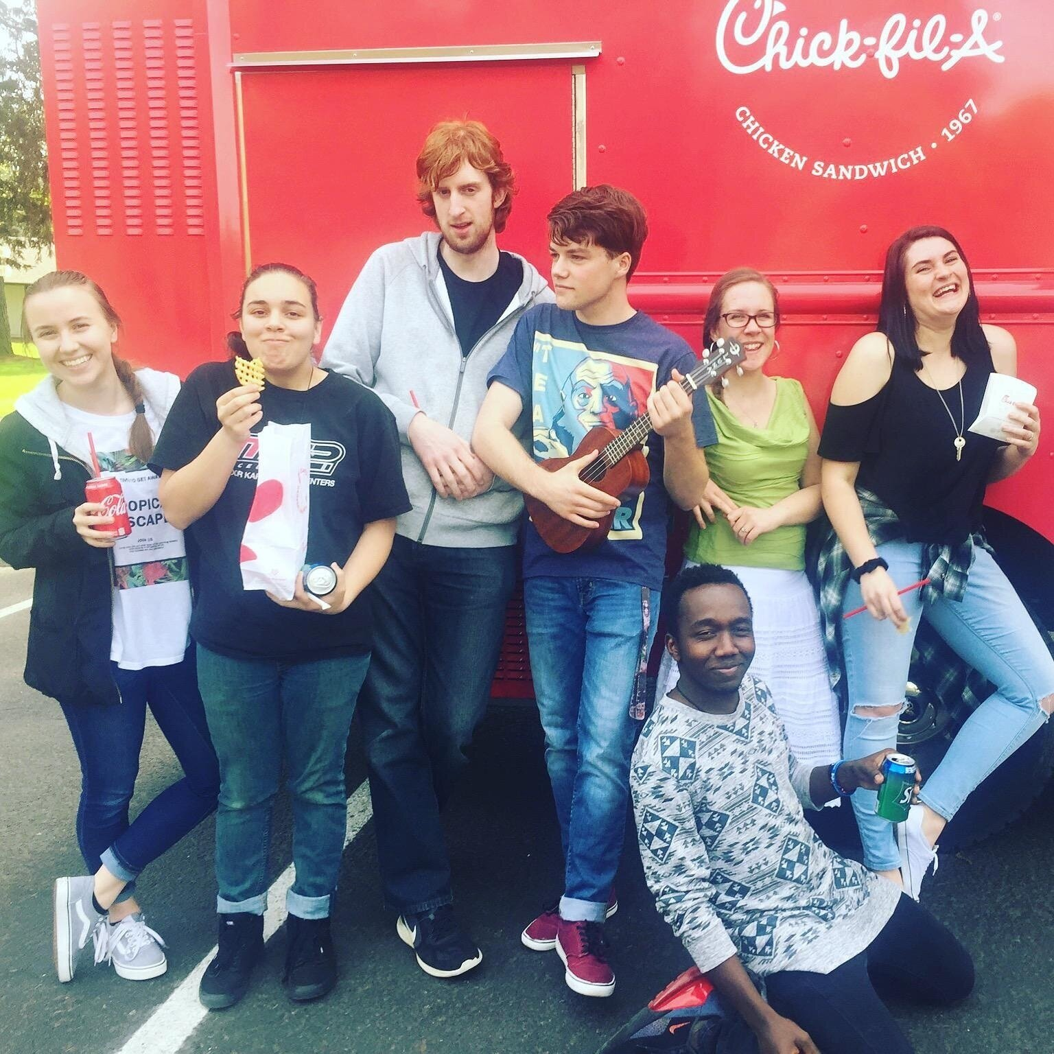 CHICK-FIL-A THURSDAY - Every Thursday, the Chick-Fil-A Food Truck parks across the street in the church parking lot! If you are around Thursday for lunch, you should join us!