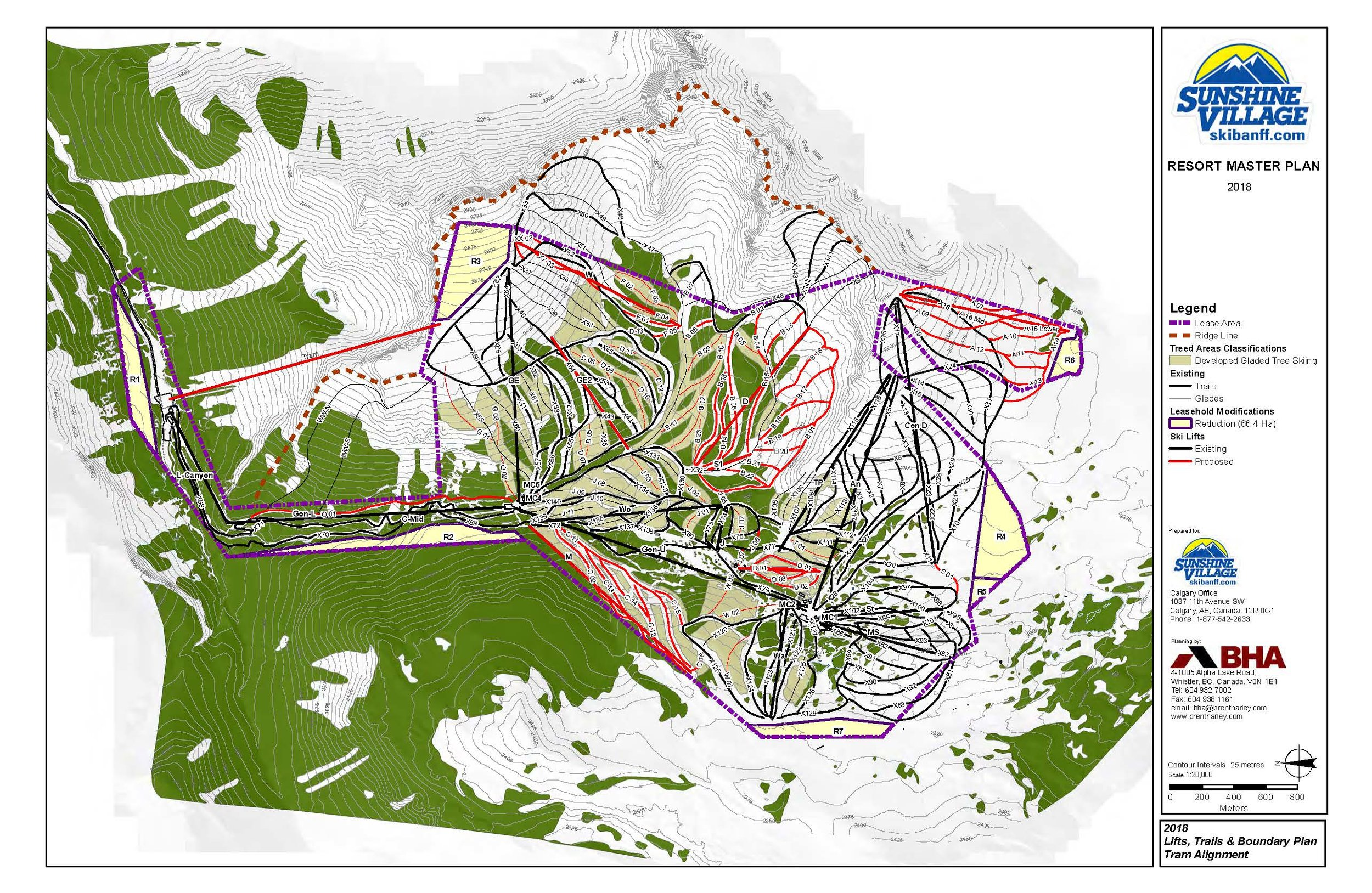 (1 to 20,000) Sunshine - Lifts Trails and Boundary Plan (Tram Alignment) (11x17) - July 3 2018.jpg