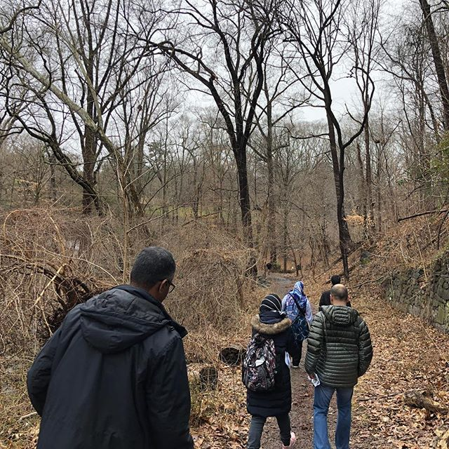 A couple of weeks ago we did an urban hike exploring some of Washington DC's natural and human history including some of Georgetown's most significant trees, one of DC's first masjids, and the former homesite of one Georgetown's earliest Muslim residents Yarrow Mamout. #outdoormuslims