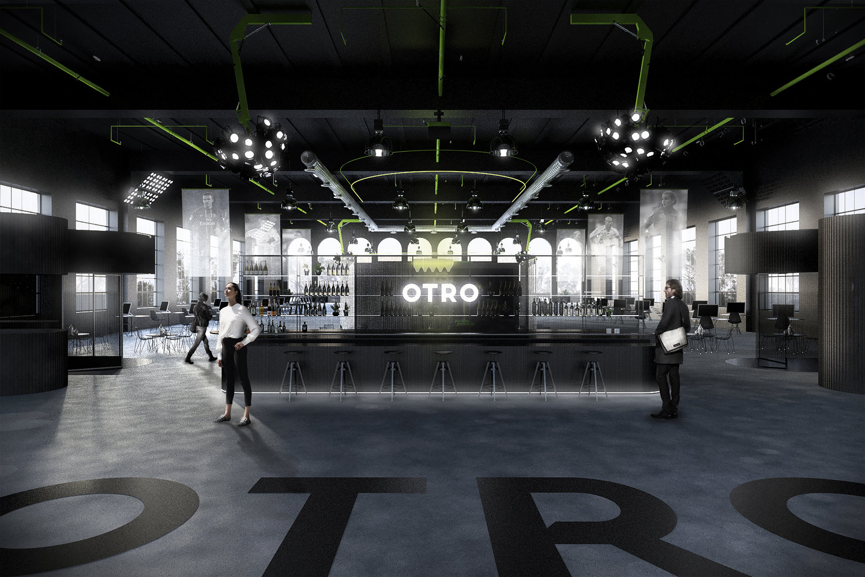 Atelier Aitken Architects and Interior Designers - Ostro Office Bar Reception Black.jpg
