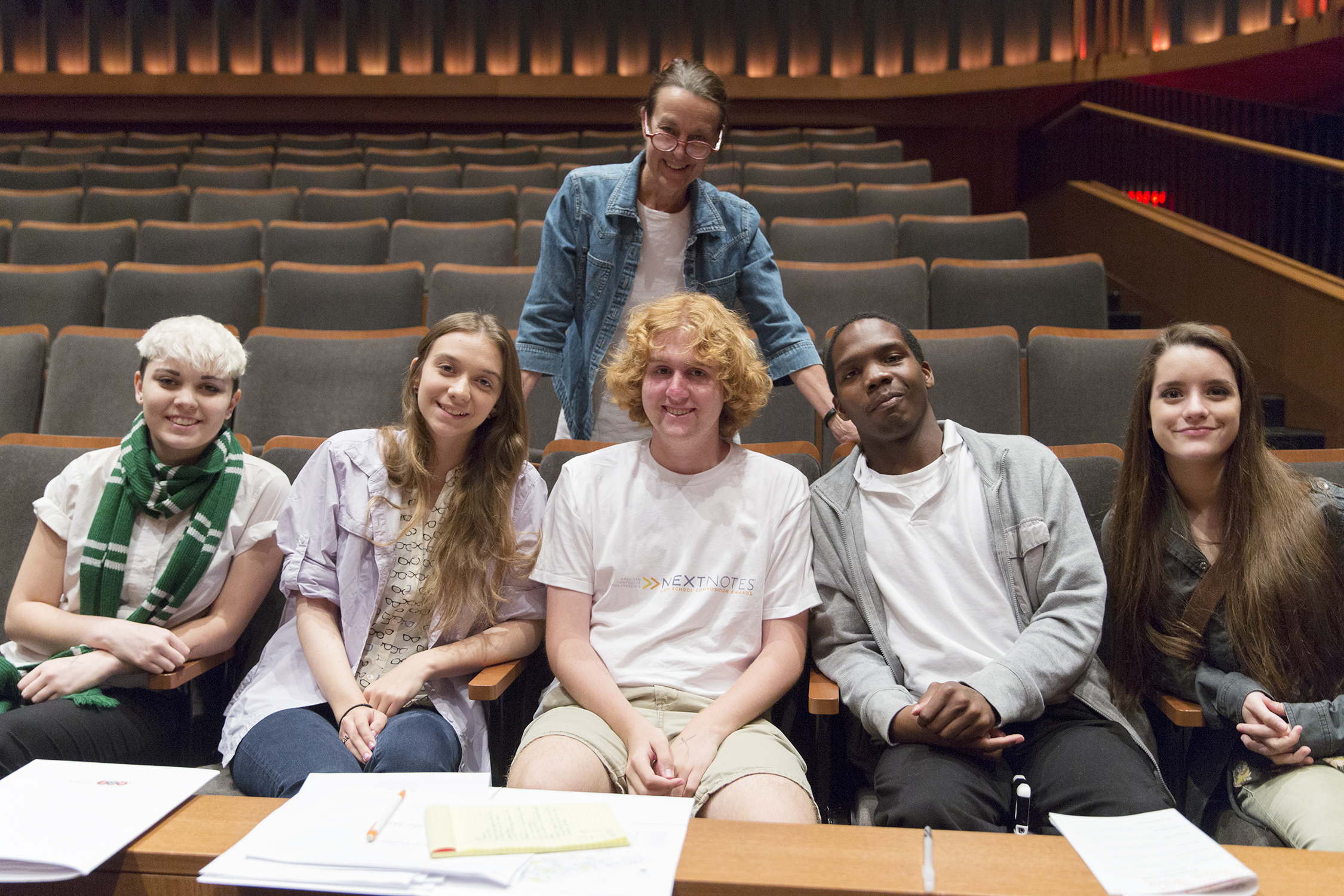 """Libby Larsen and American Composers Forum """"NextNotes"""" Competition Winners"""