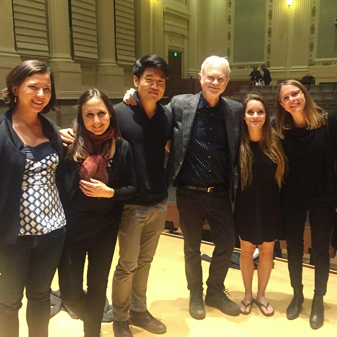 John Adams and the Berkeley Sounds Composer Fellows and Mentors