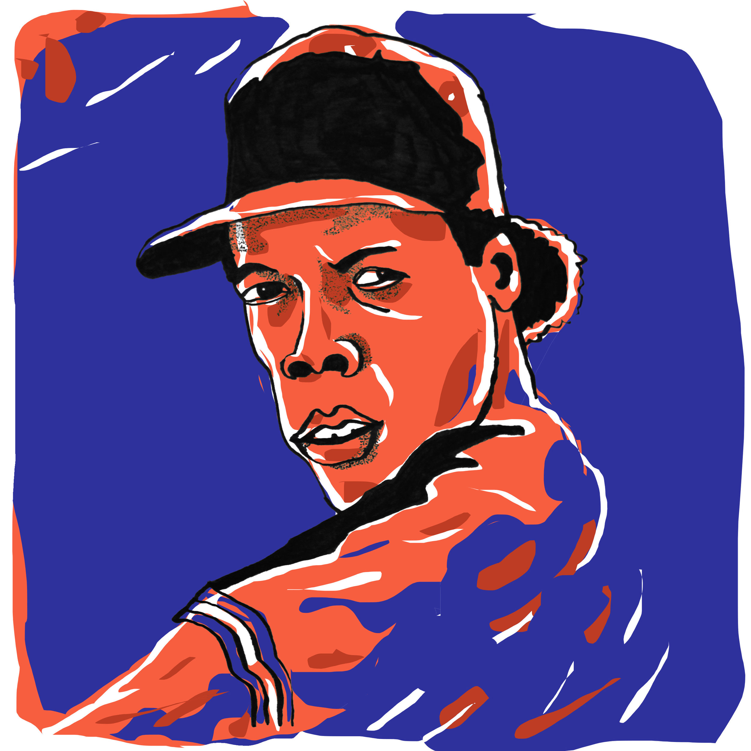 Doc Gooden by  @oyldraws
