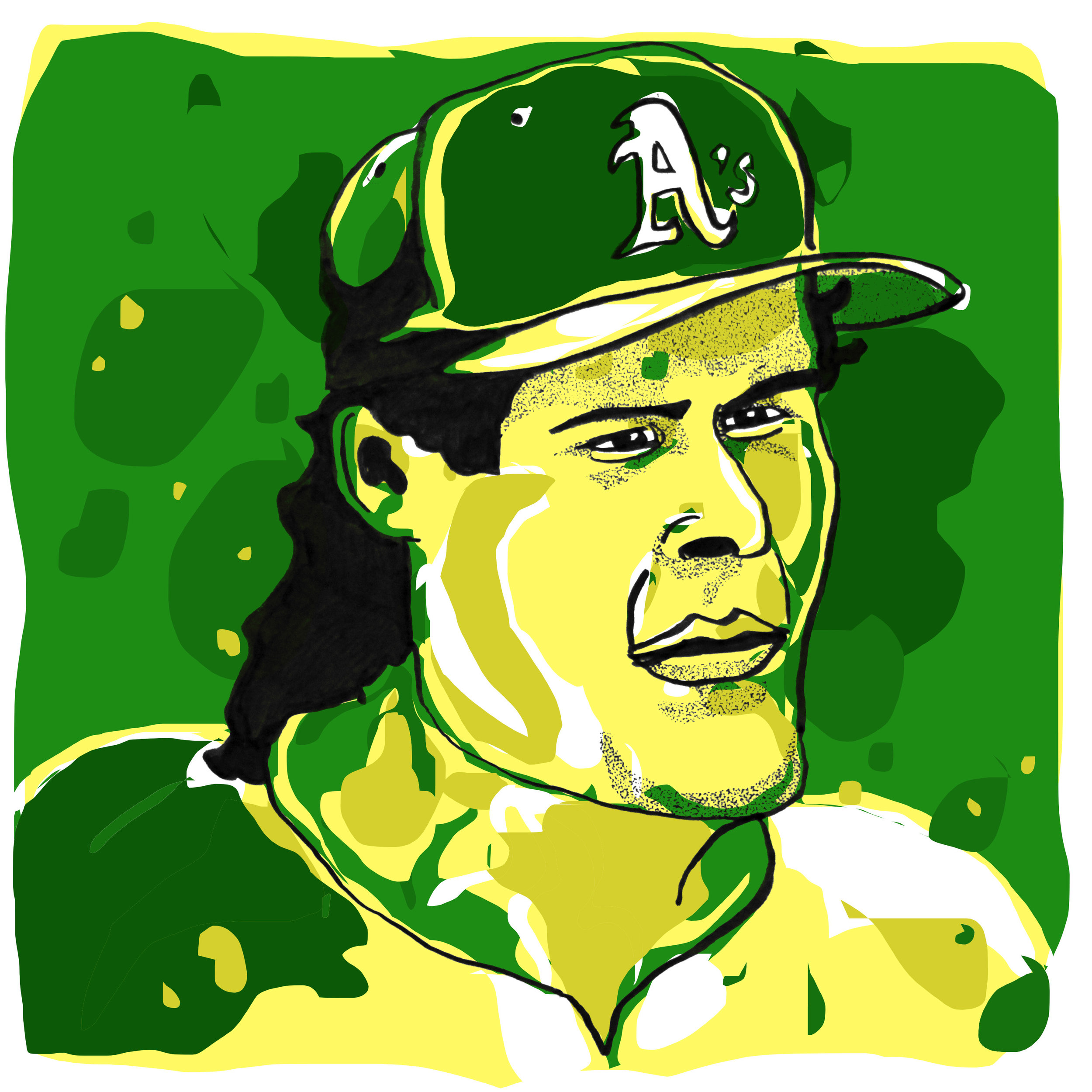 Jose Canseco by  @oyldraws