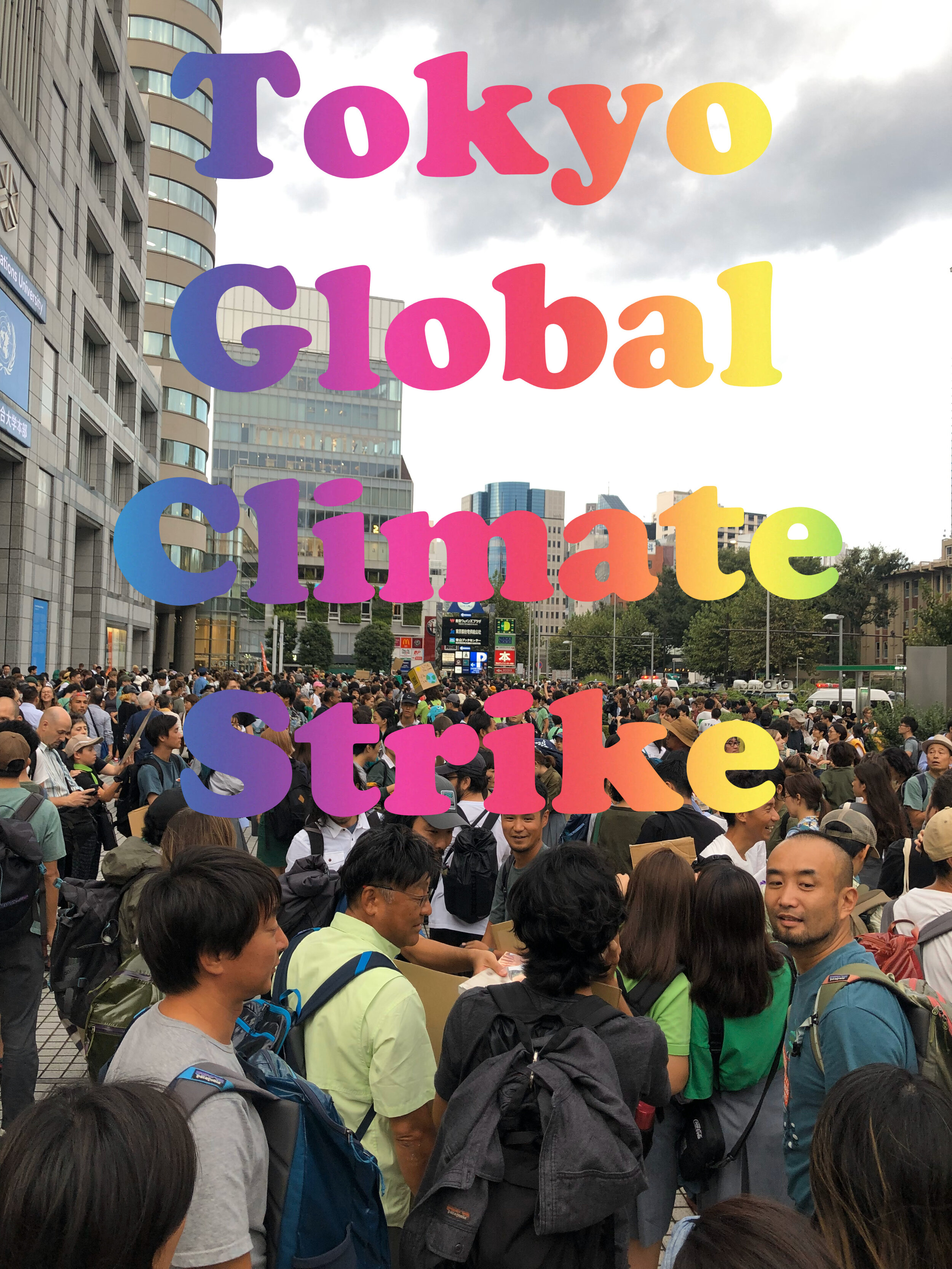 tokyo global climate strike
