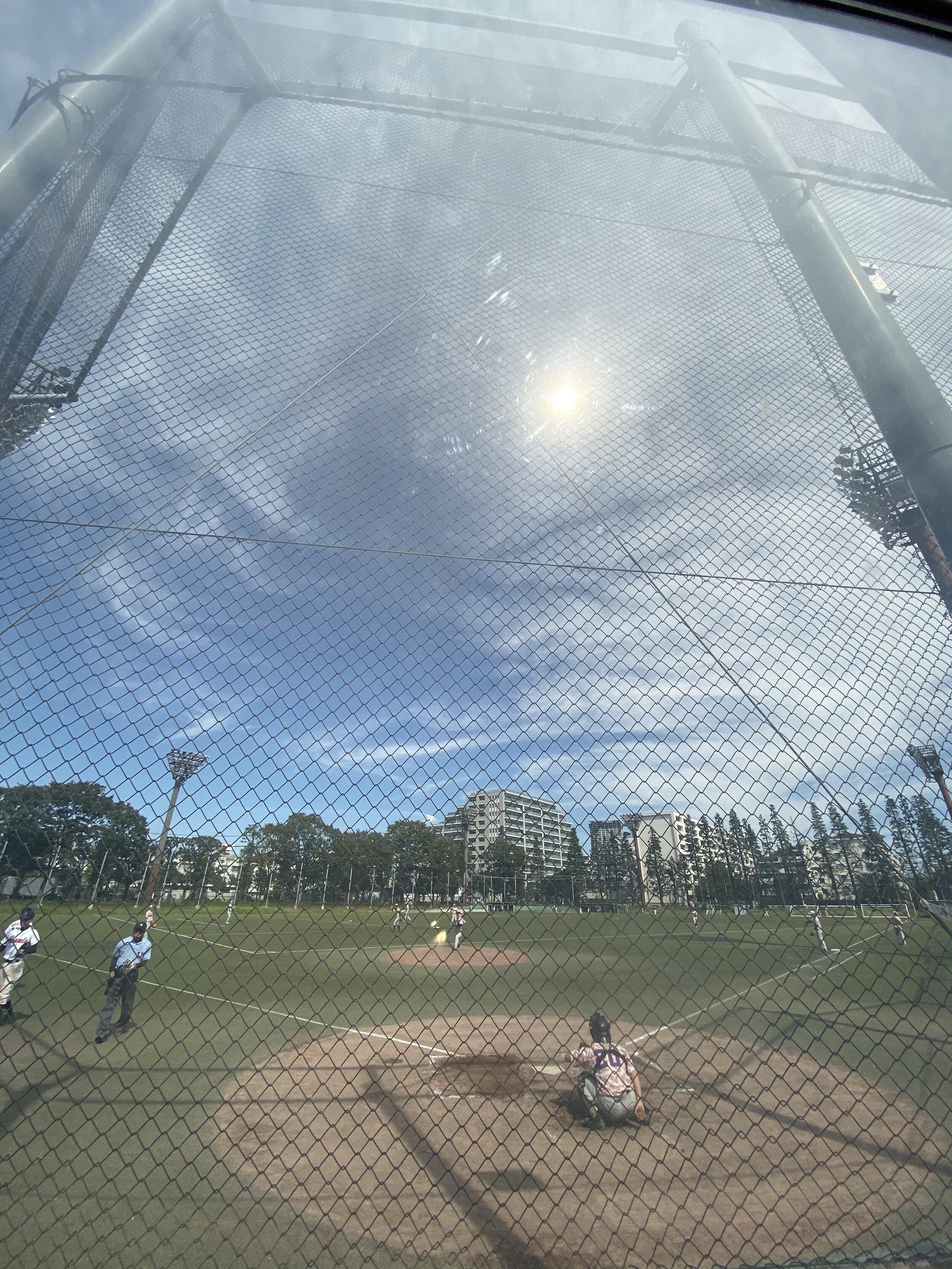 japan baseball field