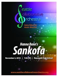 - Sankofa (2017) - Hanna BennConcertino for Piano and Orchestra (2018) - Julian GarvuePiano, Julian Garvue(world premiere)Symphony No. 9 op. 70 in Eb Major (1945) - Dmitri ShostakovichChocolate (2018) - Makenna Carrico(world premiere)