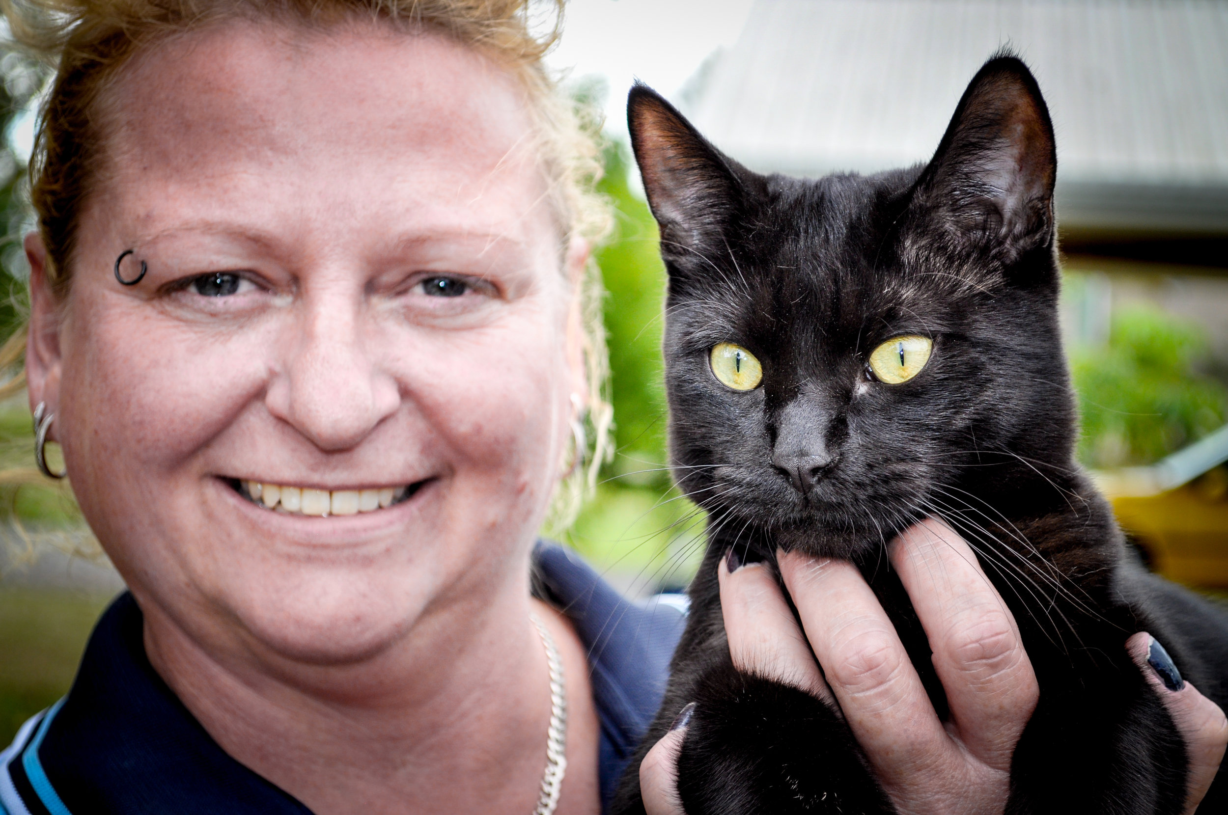 Marie And Tony The Cool Cat - Photography by Sam Toogood