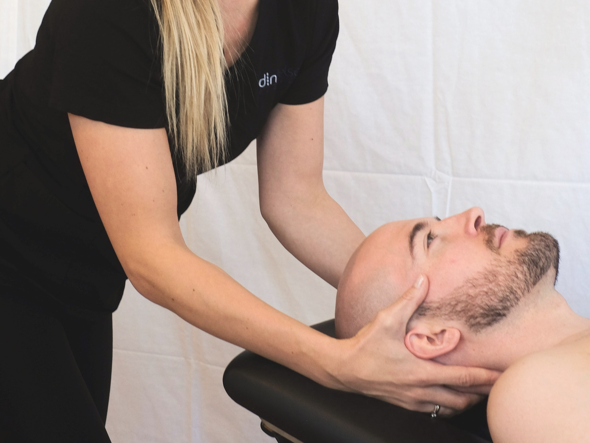 Back, Neck, and Shoulders - Therapeutic Touch to the back, neck, and shoulders is a light to deep massage technique to achieve more range of motion and loosen up tightness and any shooting pain that may occur.45 min $60