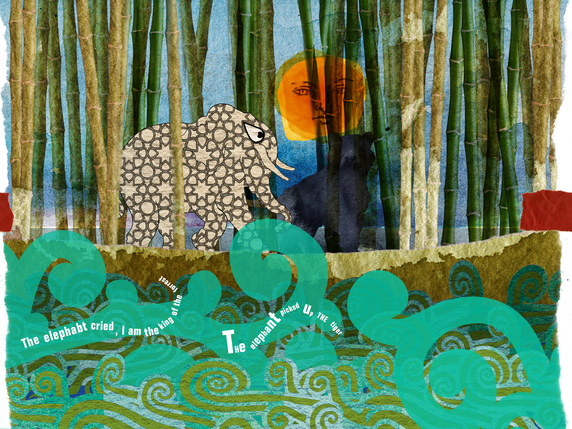 The White Elephant   INTERACTIVE CHILDREN'S BOOK APP