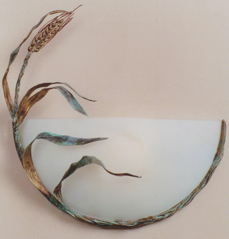 Wheat Sconce, Rhonda Kap