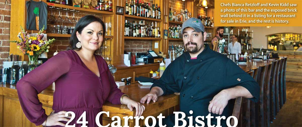 24 Carrot Bistro578 Briggs StreetErie, Colorado 80516(303) 828-1392 -