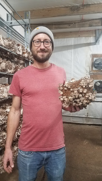 Jared Scherger - Farm ManagerJared started with HDM in 2010 doing part time maintenance. Over the past years he has become an accomplished mushroom grower and he now oversees all aspects of farm operations and sales. He shares many of his activities with the owner, Jim Hammond. In his time off he is a talented musician and vocalist and has been a member of several local bands he also maintains beautiful year-round garden and enjoys the Rocky Mountain wilderness as much as the mushrooms will let him