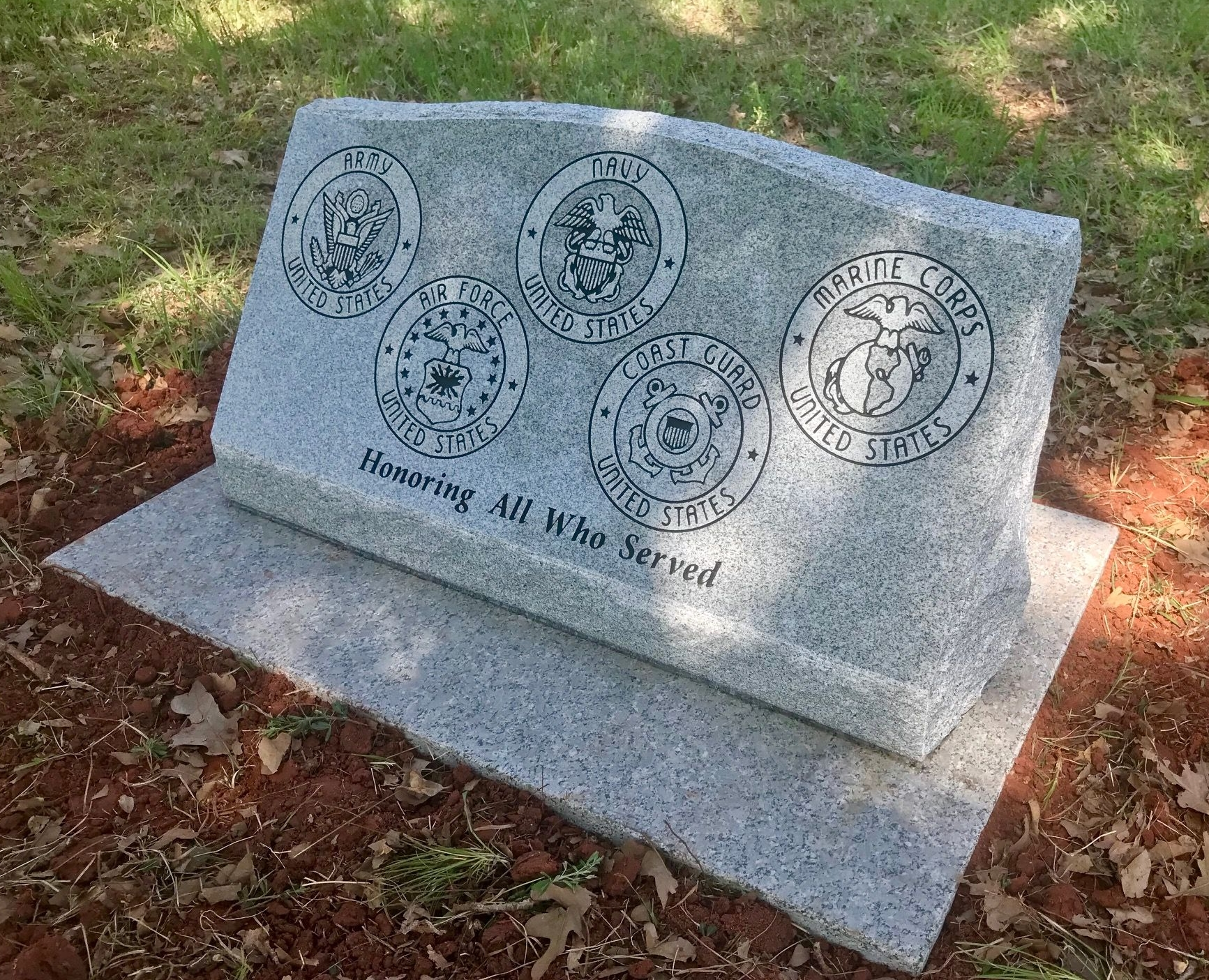 Veteran's Memorial, Private Cemetery