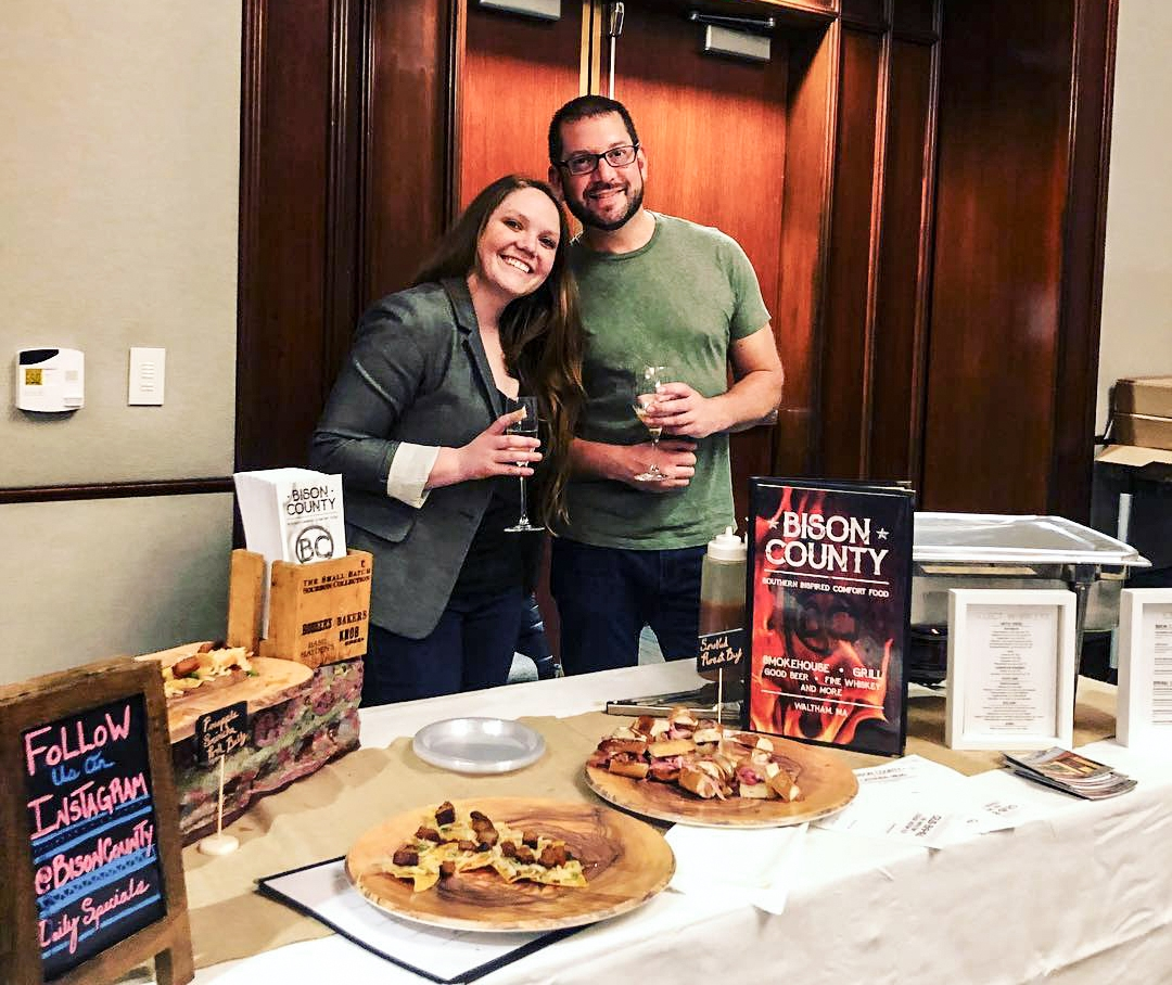 Bison County at the 2018 Waltham Food Wine and Craft Beer Festival