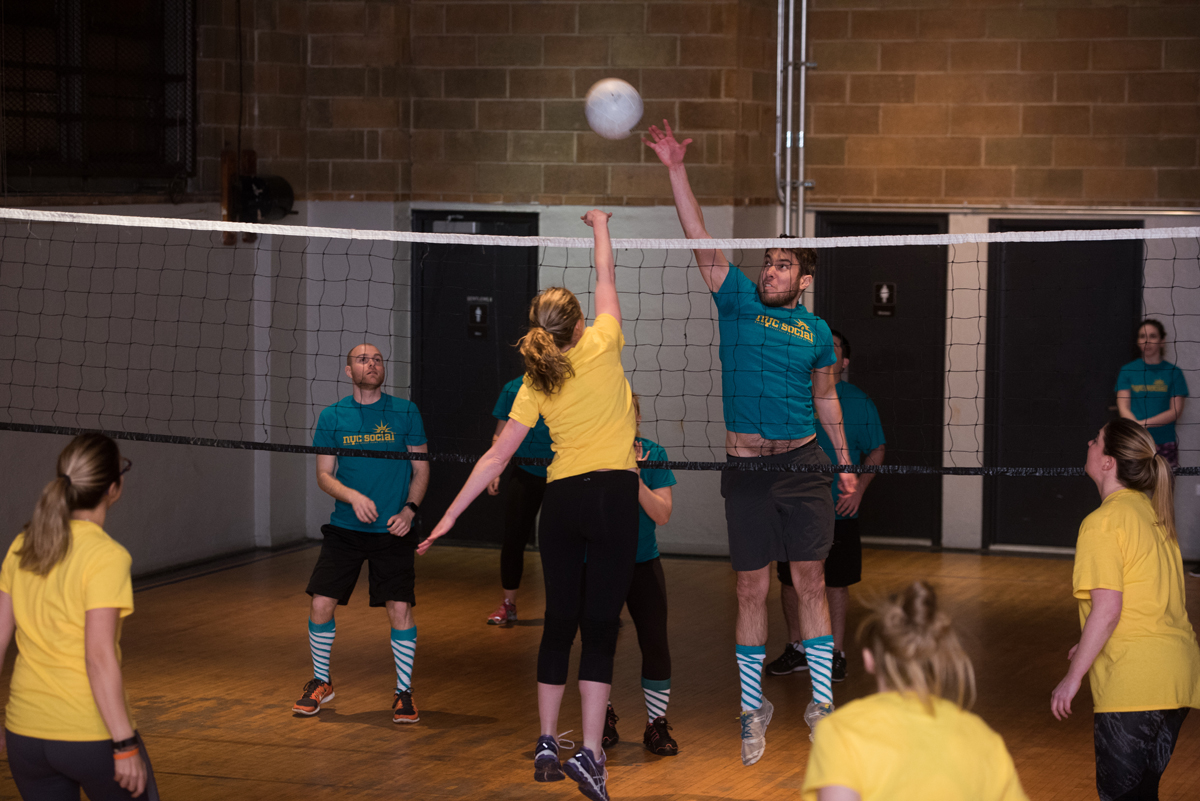 VOLLEYBALL LEAGUES -