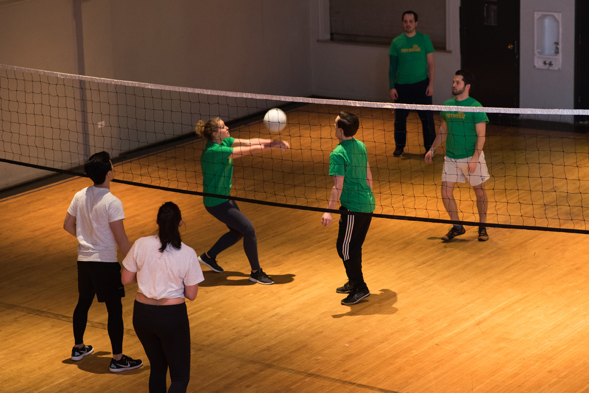 VOLLEYBALL LEAGUES - All Games at BARUCH COLLEGE