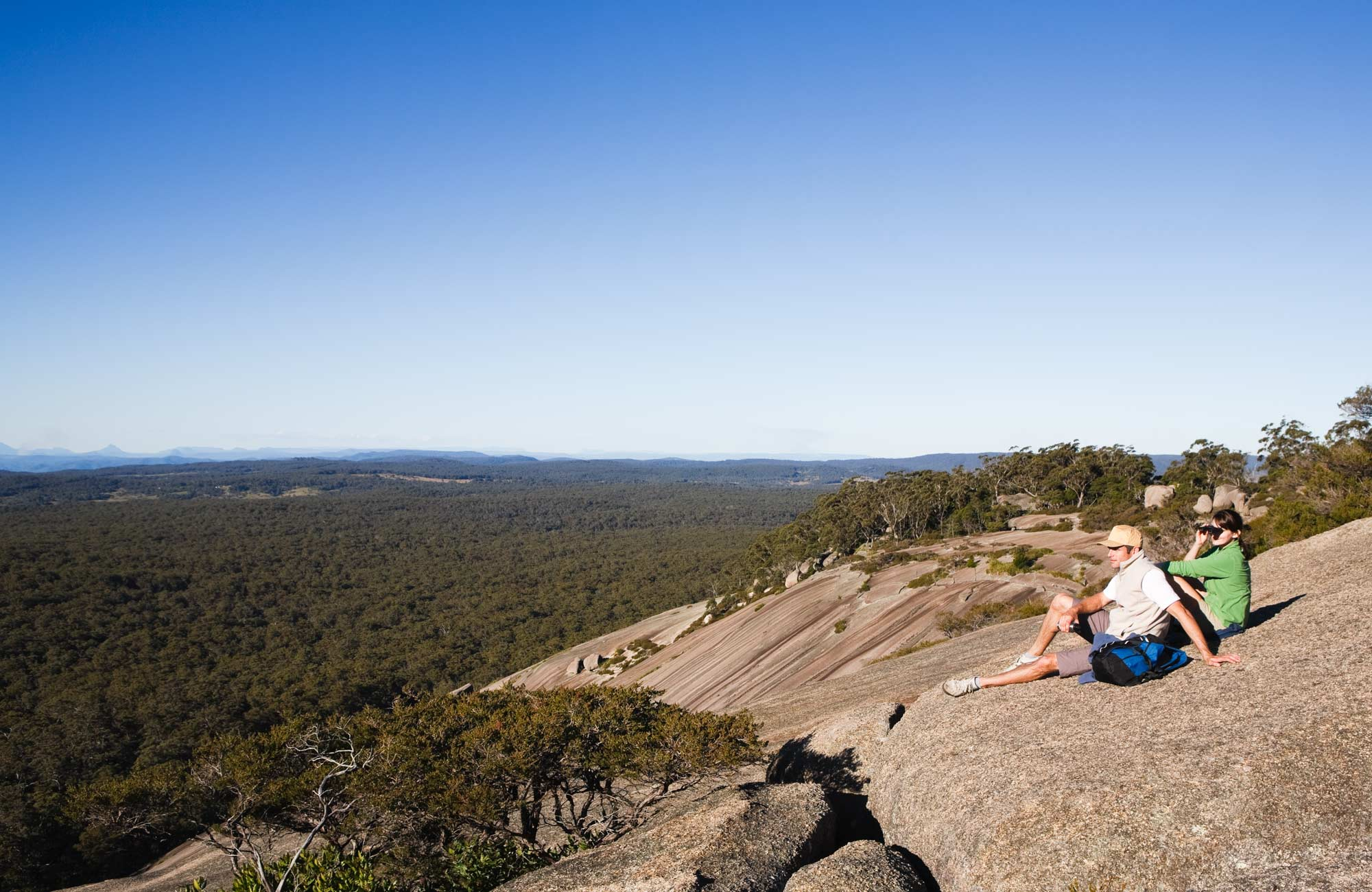 At the Summit of Bald Rock