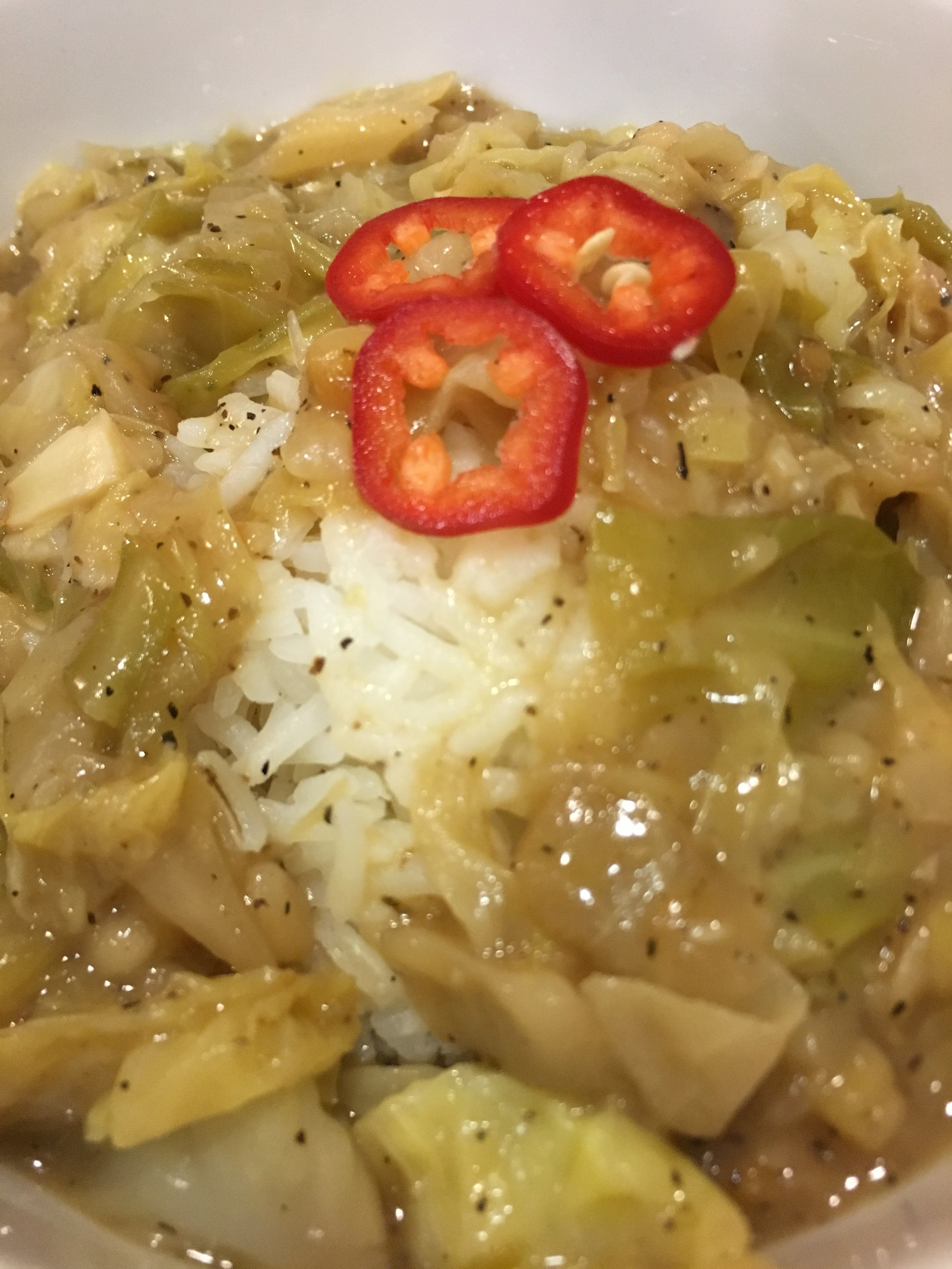 Mawmaw's Smothered Cabbage - This tasty treat pays homage to our Grandma Ware, with its sweet and spicy flavor profiles. Based in a garlic-onion-shallot roux gravy, our cabbage is smothered to al-dente perfection, with its crunchy softness, and its sweet and spicy seasonings.