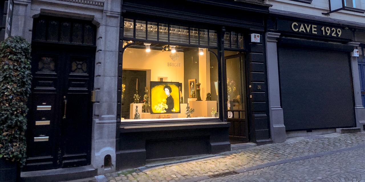 BRIGIT Art Gallery - Rue Rollebeek 36, 1000 Brussels