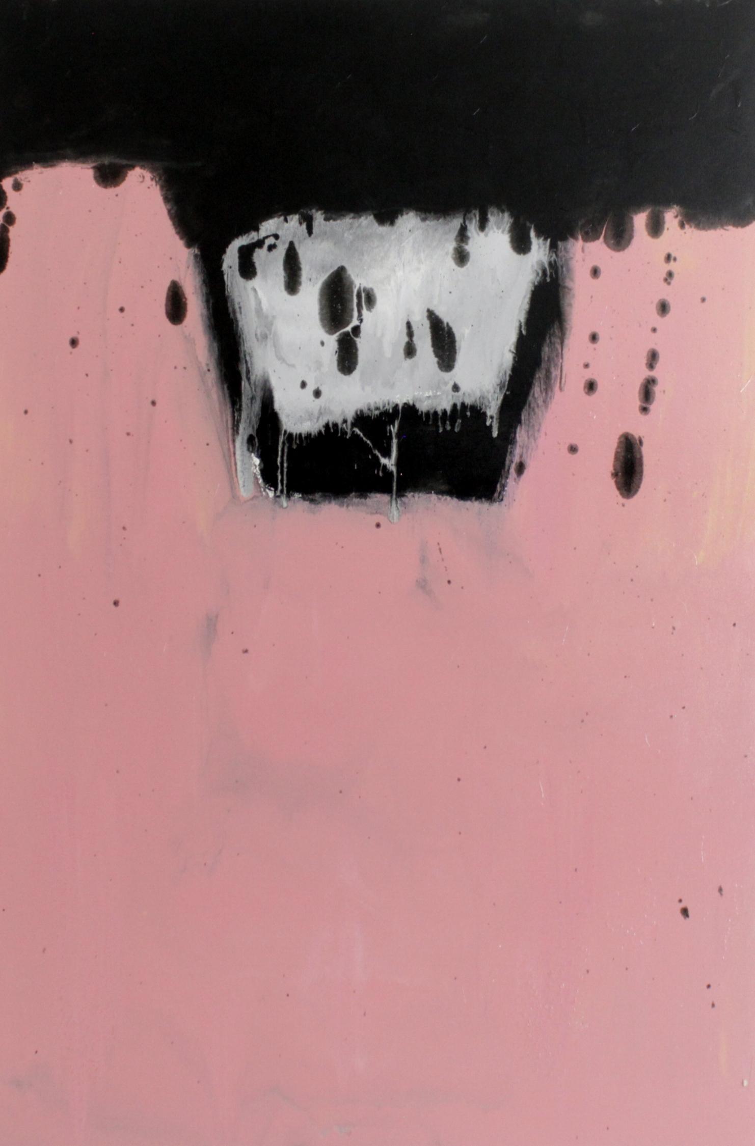 Untitled, 2016, enamel paint on canvas, 183 x 122 cm