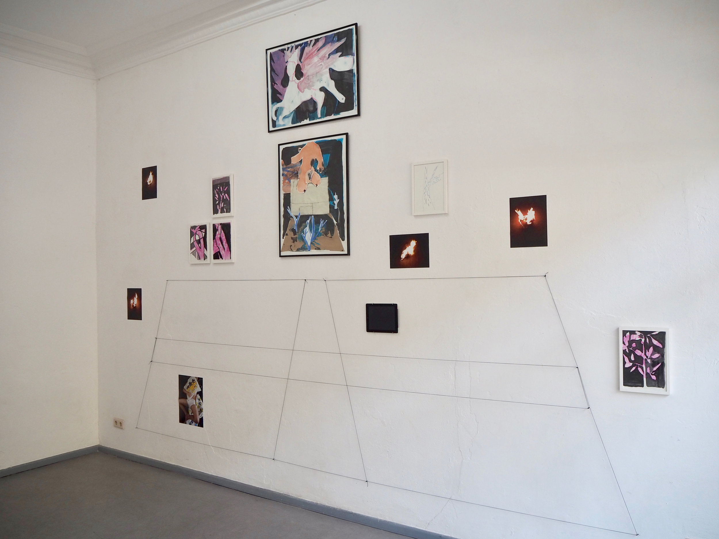 Installation view, Uqbar