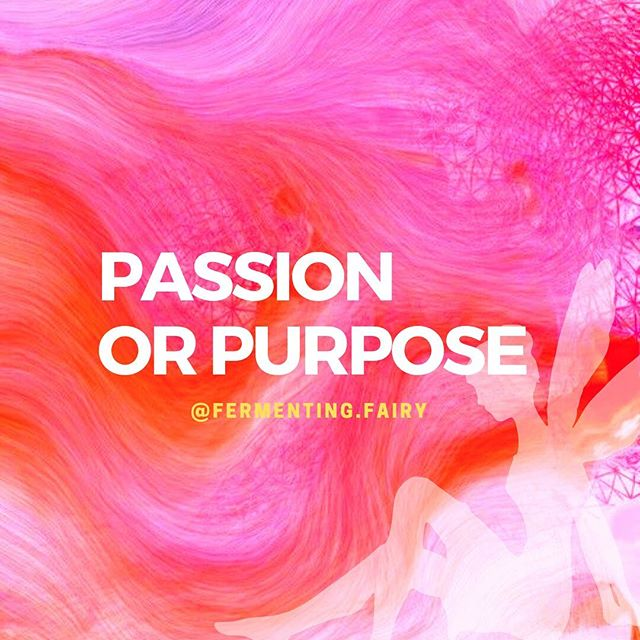 Often, these two words are used interchangeably to describe the same thing. But are they the same? . I often wonder if our passion is always our purpose and if our purpose is always our passion. We can get caught up in finding our true purpose, that is, how we can be of service to the world to make it a better place. We look towards things that fuel our fire and support our gifts. This may be called a passion. . Here is how I differentiate the two: **Passion is chosen by the self. It could be ego driven and maintained. **Purpose is chosen by the Self (or higher Self). It could be Divinely driven . I used to think that teaching yoga was my purpose. I loved it and was good at It. . Turns out, this was my passion, not my purpose. How do I know that? Although teaching yoga gave me fuel and got me out of bed everyday, I felt an internal struggle constantly. I was met with barriers at every turn. I was so focused on making money and much less being of service. . Purpose has momentum. Purpose has meaning. Purpose doesn't stop even when you (your ego) tries to stop it. Purpose unfolds into more purposes. Purpose uncovers hidden gifts. . Does your purpose have to come from a passion? NO. Can your passion be a part of your purpose? YES. . I think the take home message is: If you are searching for your purpose, don't just entertain those things that you find passion in. And if you have a passion, this may or may not be your purpose. Just being aware of this can save you alot of time and heart-ache. . What are your thoughts and experiences around passion/purpose?