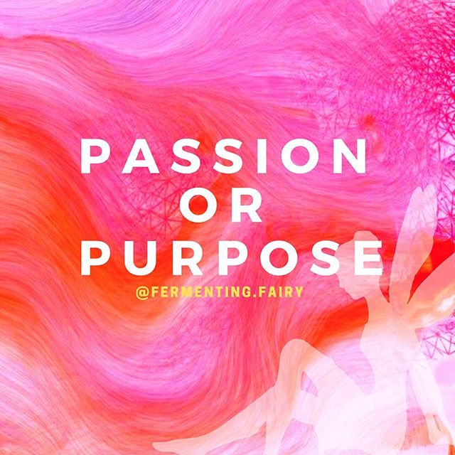 Often, these two words are used interchangeably to describe the same thing. But are they the same? . . I often wonder if our passion is always our purpose and if our purpose is always our passion. We can get caught up in finding our true purpose, that is, how we can be of service to the world to make it a better place. We look towards things that fuel our fire and support our gifts. This may be called a passion. . . Here is how I differentiate the two: **Passion is chosen by the self. It could be ego driven and maintained. **Purpose is chosen by the Self (or higher Self). It could be Divinely driven . . I used to think that teaching yoga was my purpose. I loved it and was good at It. . . Turns out, this was my passion, not my purpose. How do I know that? Although teaching yoga gave me fuel and got me out of bed everyday, I felt an internal struggle constantly. I was met with barriers at every turn. I was so focused on making money and much less being of service. . . Purpose has momentum. Purpose has meaning. Purpose doesn't stop even when you (your ego) tries to stop it. Purpose unfolds into more purposes. Purpose uncovers hidden gifts. . . Does your purpose have to come from a passion? NO. Can your passion be a part of your purpose? YES. . . I think the take home message is: If you are searching for your purpose, don't just entertain those things that you find passion in. And if you have a passion, this may or may not be your purpose. Just being aware of this can save you alot of time and heart- . . . What are your thoughts and experiences around passion/purpose?