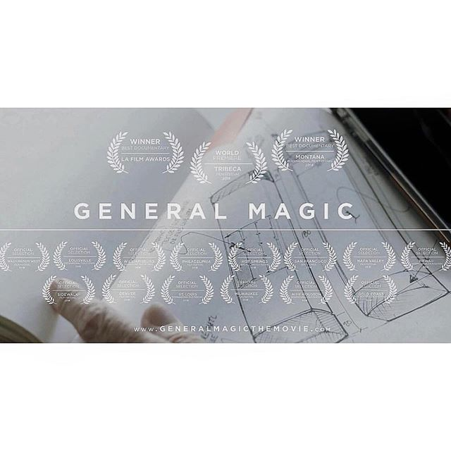 The critics have had their say but we'd love to hear from you.  If you've manage to see the film on @showtime or during the tour, then head over to our Facebook page, @imdb or @rottentomatoes and let us know what you thought. . . . #review #generalmagicthemovie #generalmagic #film #filmmaking #smartphone #imdb #rottentomatoes #facebook #apple #stevejobs
