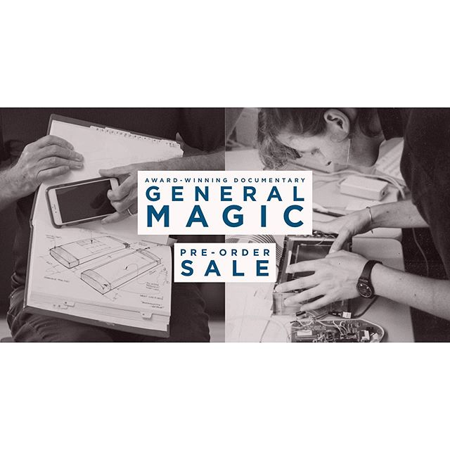 💲FLASH SALE💲 That's right, pre-order General Magic this weekend from Apple @itunes and access huge savings off the regular documentary price* . . . *offer applies to US, Canada, UK/Ireland, and Australia storefronts only #hugesavings #flashsale #generalmagicthemovie #generalmagic #itunes #documentary #documentaryfilmmaking #preorder #download #apple #stevejobs #androidusers