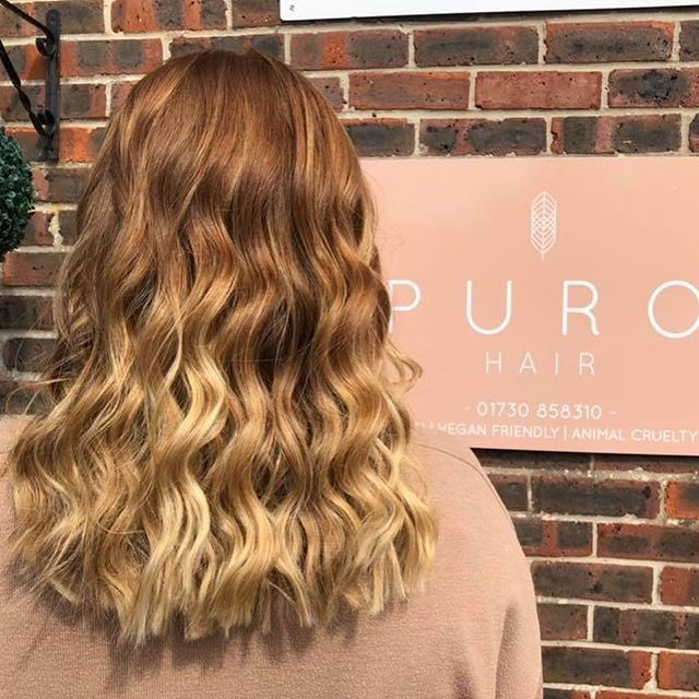 In love with this beautiful balayage done today by Chloe on our lovely dear friend @laurenkates_ ❤️