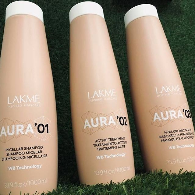 INTRODUCING ✨ LAKMÉ AURA at Puro Hair ✨  AURA IS THE FIRST BIOTECHNOLOGICAL, VEGAN HAIR TREATMENT THAT STRAIGHTENS AND SOFTENS THE HAIR FIBER AND ELIMINATES FRIZZ.  DERMATOLOGICALLY TESTED  FORMALDEHYDE FREE  EXTRAORDINARY TREATMENT RESULTS: HIGHLY TEXTURIZED, SHINY, SILKY AND SOFT HAIR  MORE MANAGEABLE HAIR, FASTER AND EASIER DRYING  THE RESULTS LAST FOR 4 TO 6 MONTHS  AURA offers a ritual with greater straightening power and frizz control.  The technical team at Lakmé Studio presents 3 hyaluroplasty treatments with unbeatable results.  Pop in to see us at Puro for more information and details. We've seen the amazing results of AURA and we are so excited to offer this incredible service to our lovely clients.