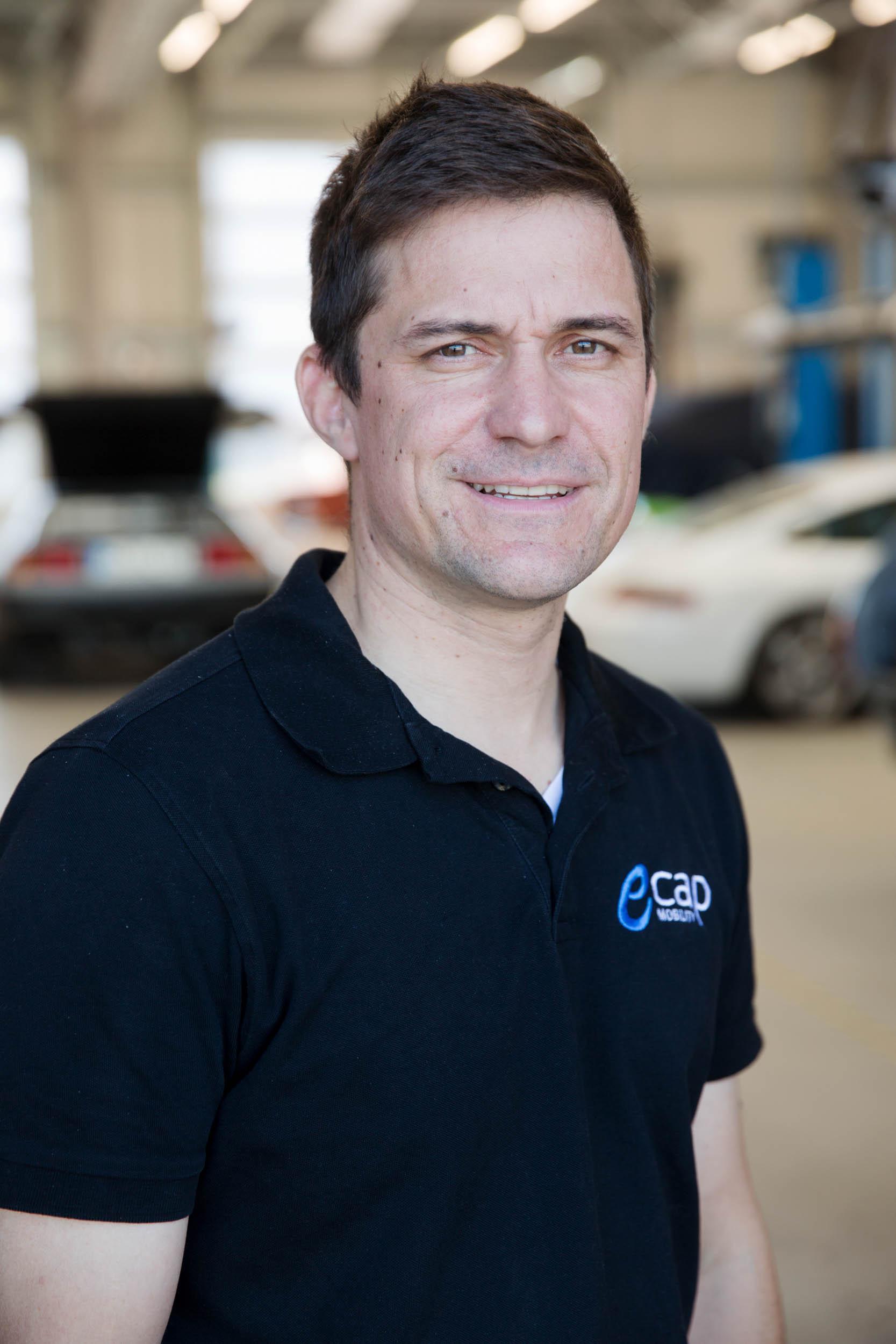 Clemens Lange | Schlosser & Schweißer  cla@ecap-mobility.com