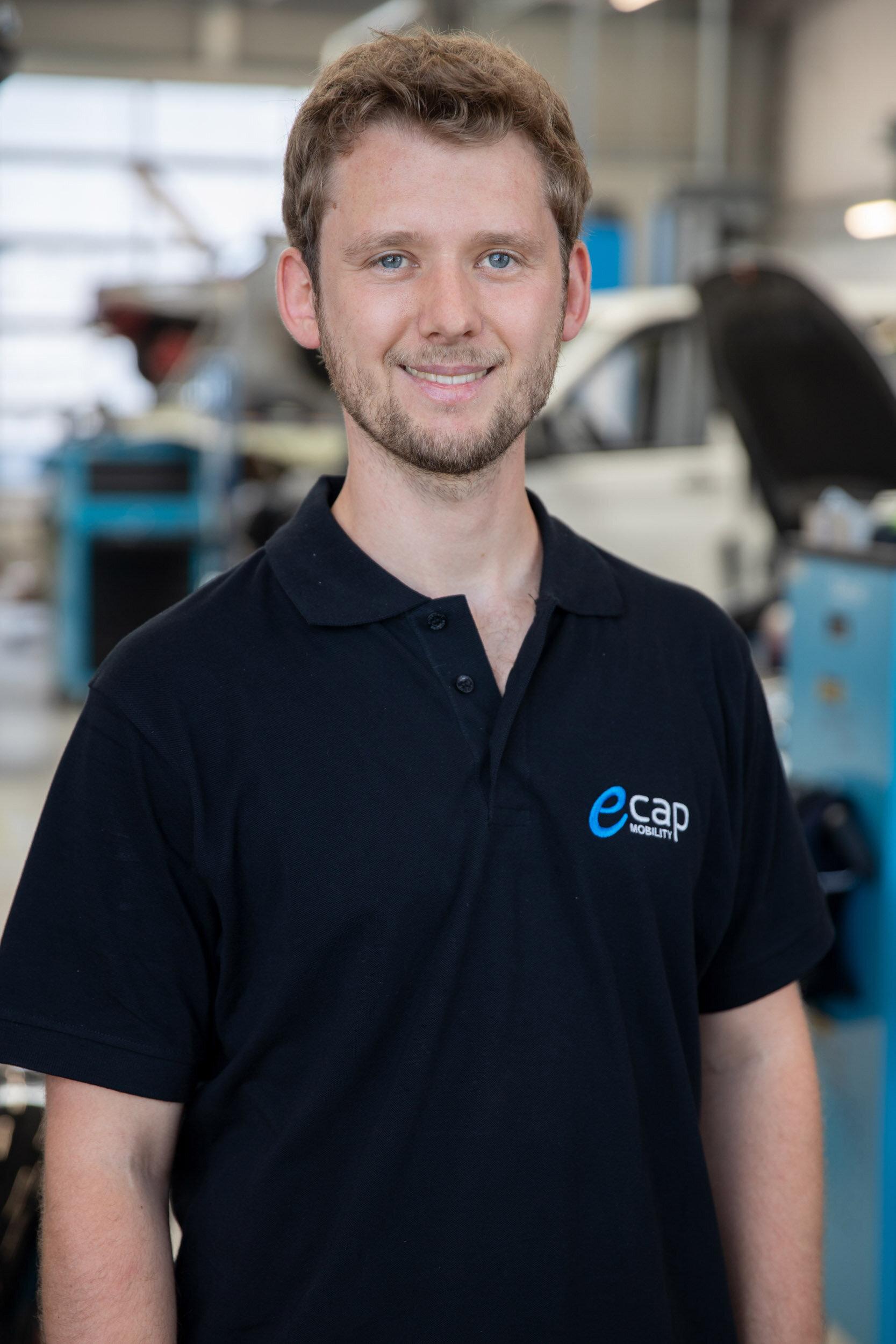 Claudio Schwalfenberg | Projektassistenz  csc@ecap-mobility.com