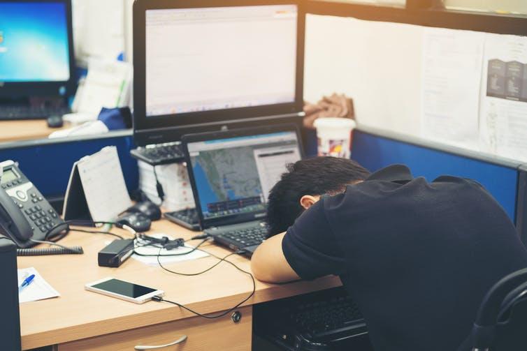 Sore head? Shutterstock.