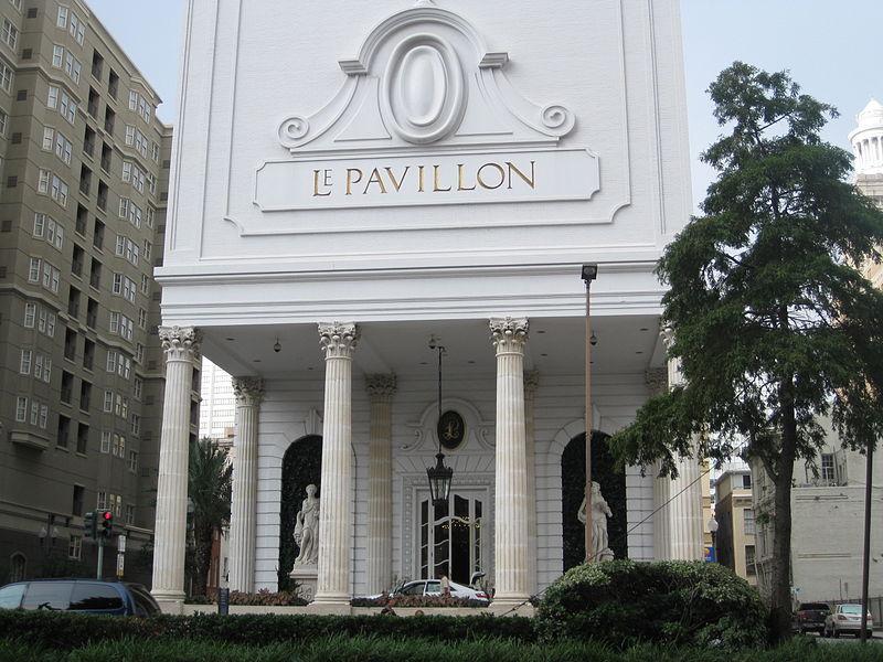 Le Pavillon Hotel.